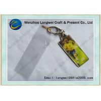 Buy quality World Cup Theme Acrylic Plastic Photo Keychain For Customized Sport Souvenir at wholesale prices