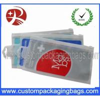 Buy cheap OEM Resealable Gravure Printing CPE Plastic Hanger Bags With Slider from wholesalers
