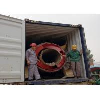 Buy quality High Drying Rate Efficient Drum Dryer , Small Wood Shavings Sawdust Rotary Dryer at wholesale prices