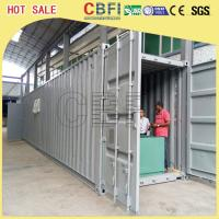 China 5 Ton Per Day Containerized Block Ice Machine, Ice Block Making Business on sale