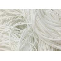 Buy cheap Eco Friendly Round Stretchy Elastic String Cotton Material High Tenacity product