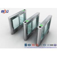 Buy cheap 304 Stainless Steel Card Read Swing Arm Barriers Security Pedestrian Control System product