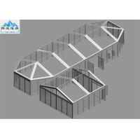 Buy cheap Transparent Or White PVC Large Pagoda Tent 6x6m / 6X17.2m Aluminium Frame product