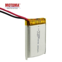 Buy cheap 3.7v 600mAh Toy Rechargeable Battery With PCM And Connector product