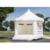 Buy cheap Pop Up Inflatable Event Tent Pure White Color Fashion Popular For Wedding product