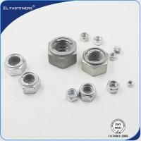 Buy cheap Galvanised / Natural Color Surface Metal Insert Lock Nut Zinc Plated Finish product