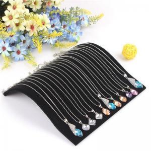 Velvet Necklace Chain Pendant Display Jewelry Organizer Stand Holder New