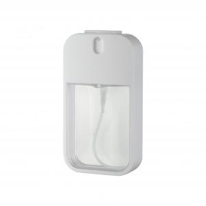 Buy cheap Fine Mist Pump Sprayer PETG ABS Bottle 20ml Square Travelling Bottle Perfume Bottle product