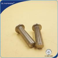 Buy cheap Stainless Steel 304 316 Hexagon Socket Button Head Cap Screws ISO 7380 product