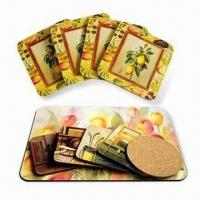 Buy cheap Cork Coaster in Square Shape product