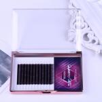 Buy cheap Gradual Purple Blooming Eyelash Individual Extensions 0.07mm Thickness Hand Made product
