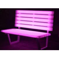 Buy cheap Light Up Chairs Garden Furniture , PE  Plastic Glow In The Dark Chairs from wholesalers