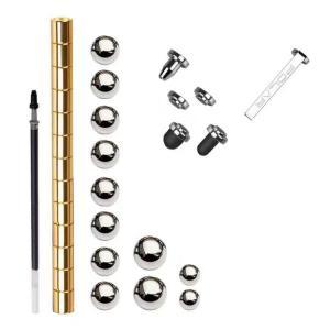 China fidget toy stress reliever round fidget Modular polar pen on sale