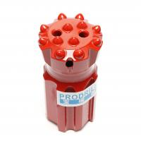 Buy cheap T45-76mm Threaded Button Drill Bits Superior Drilling Performance With 14 Buttons product