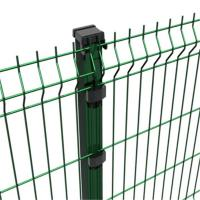 Buy cheap Decorative Powder Coated 3d Floding Welded Mesh Fencing , Metal Mesh Fence product