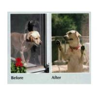Buy cheap Special durable pet mesh paw proof heavy duty flyscreen for window and door product