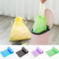 Buy cheap Yellow String Colored Trash Bags , Can Liners Trash Bags Custom Printing product