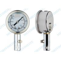 Buy cheap 50mm Tyre pressure gauge with the chrome stem , precision tire pressure gauge product
