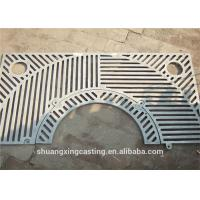 China Eco Friendly Cast Iron Tree Grates Electro Zinc Plating 1000mm X 1000mm on sale