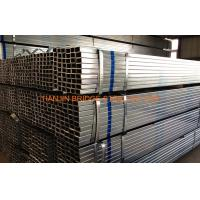 Buy cheap BS1387 Q235 Pre Galvanized Steel Pipes Schedule 40 WT 0.5mm - 20mm product
