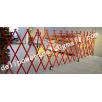 Buy cheap fiberglass extension fence,temporary protection/manhole barriers product