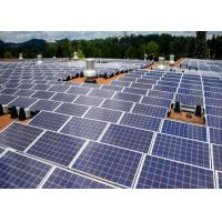 Buy cheap Customized Tilt Angel Solar Panel Roof Mounting Kits , Solar PV Solar Mounting Systems product