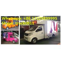 China China smallest P8 mobile LED advertising truck for sale, Factory sale Chang'an 65KW gasoline outdoor mobile LED truck on sale