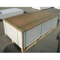 Buy cheap Energy Saving Rigid PVC Sheet Scratch Resistant Smooth Surface For Furniture SGS product