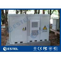 Buy cheap Three Bays Assembled Base Station Cabinet For Installing Battery / Power System product