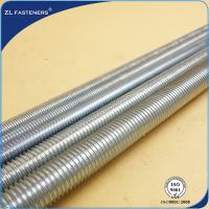 Buy cheap Blackened Full Threaded Rod , High Tensile Steel Bar GB / DIN Standards product