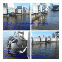 China Pneumatic Floating Rubber Marine Boat Fenders for ship to dock on sale