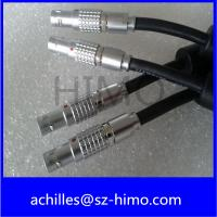 China push pull self-locking 3pin lemo cross push pull connector cable assembly on sale