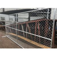 Buy cheap 6' X 12' And 6' X 10' Temporary Construction Fence Panels AS 54687-2007 Certification product