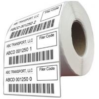 Buy cheap Durable Logistic Labels Customized Size For Delivery / Shipping product