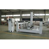 Plywood / PE / Foam 5 Axis CNC Router Machine With Economic 5 Axis Head