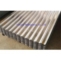 Buy cheap Hot Dipped Galvanized Corrugated Steel Sheet For Roofing SGCC, DX51D, DX52D product