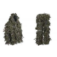 Buy cheap Hybrid Woodland Camouflage Ghillie Suit Lightweight Military Style Ghillie Suit product