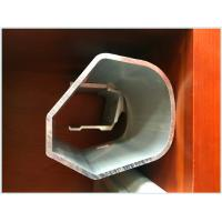 Buy cheap Industrial 6063 T5 Silver Anodized Anodized Aluminum Profiles Cylinder Tube Shape product