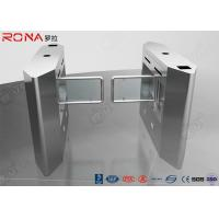 Buy cheap Security Access Control Swing Barrier Gate System With Rfid Identification product