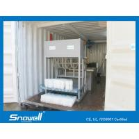 China 1000KG/Day Containerized Block Ice Machine For Fresh Preservation Of Aquatic Products on sale