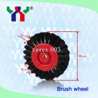 Buy cheap Abrasive Flap Brush Wheel,Durable offset printng machine spare part,Crimped Natural,Feeder product