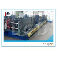 China Cr12 Blade Cable Tray Roll Forming Machine With Punching 15m / Min Forming Speed on sale
