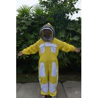 Buy cheap Yellow Color New type Ventilated Bee Suit of Beekeeping Protective Clothing product