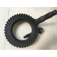 Buy cheap Hypoid Spiral crown bevel gears , High Precision Forging ring gear and pinion gear product