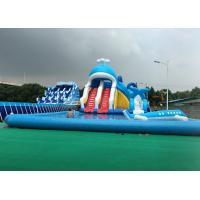 Buy cheap Animal Inflatable Theme Park , Blow Up Water Park Playground PVC Tarpaulin product