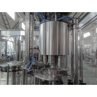 Buy cheap Automatic Beverage Manufacturing Equipment 4 In 1 Bottle Washing Filling Capping product