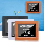 Buy cheap Digital Clock Invitation Lcd Video Greeting Card 5 Alarm Options 1024*768 Resolution product