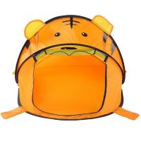 Buy cheap Indoor / Outdoor Childrens Play Tent Tiger Folding Pop Up Playhouse Cute Design product