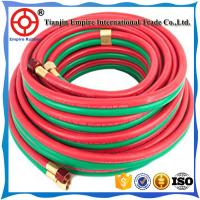 Buy cheap OXYGEN AND ACETYLENE HOSE TWIN WELDING HIGH PRESSURE RUBBER 5/16'' HEAT RESISTANT product