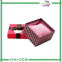 Buy cheap Fancy Matte Red Cardboard Match Packaging Box With Screen Printing product